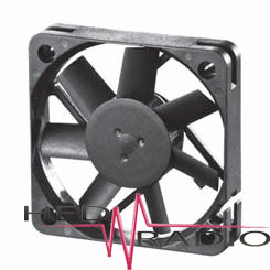 SUNON DC Axial-Lüfter 12V 45 x 45 x 10, MB45101V2-A99