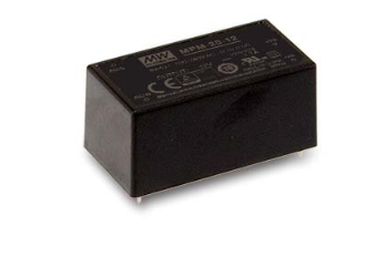 5V 4A 20W Einbaunetzteil MeanWell MPM-20-5
