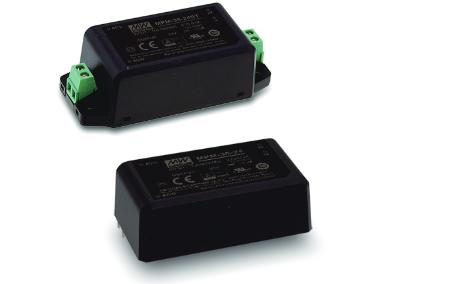 12V 2,5A 30W Einbaunetzteil MeanWell MPM-30-12