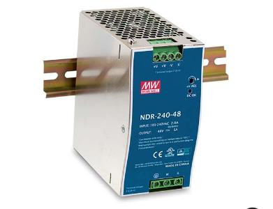 MEANWELL NDR-240-24 Netzteil Hutschiene 24V / 10A, 63 x 113 x 125mm (LxBxH)