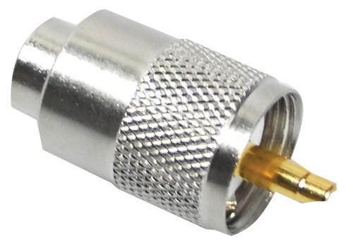 PL-, UHF-Stecker PL-259-6 für RG-58 und ähnliche