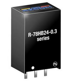 RECOM R-78HB24-0.3 DC-Wandler 24V / 0,3A