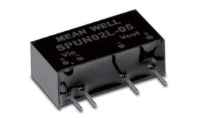 MeanWell SPUN02/DPUN02 DC/DC-Wandler SIP