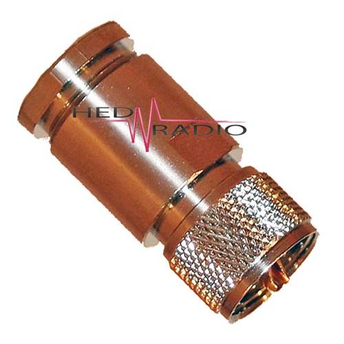 PL-, UHF-Stecker für Aircell-7 und H-2007, Lötversion