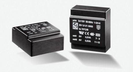 Flachtransformator Hahn UI20 1VA 2x115V 2x15V 2x33mA