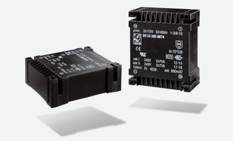 Flachtransformator Hahn UI39 30VA 2x115V 2x12V 2x1,25A