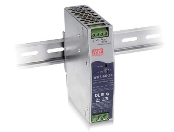 MeanWell WDR-60 DIN-Schiene