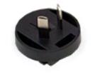 Steckeraufsatz für MeanWell-Steckernetzteile, Variante Australien
