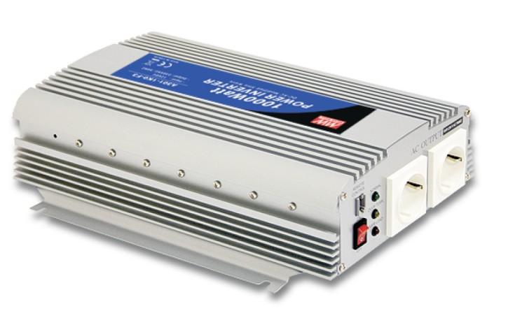 12V auf 230V Quasi-Sinus-Wechselrichter 1000W Dauerleistung