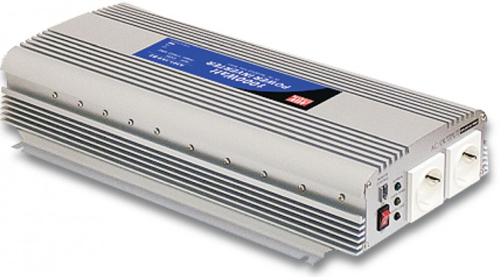 12V auf 230V Quasi-Sinus-Wechselrichter 1500W Dauerleistung