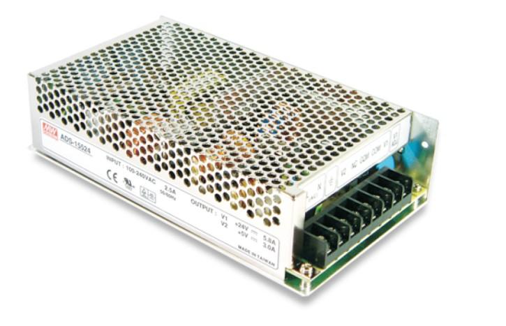 48V 2,7A Notstrom-Netzteil mit Ladefunktion und Netzausfallschutz