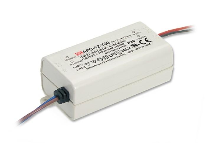 9-36V LED-Netzteil 0,350A 12W MeanWell APC-12-350