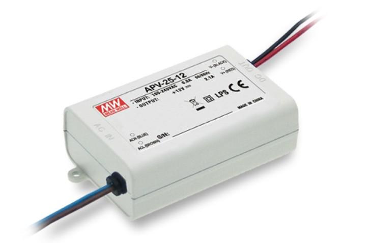 12V LED-Netzteil 2,1A 25W MeanWell APV-25-12