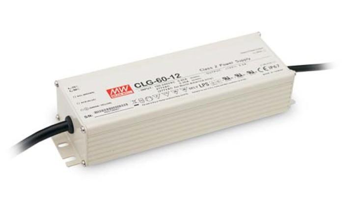 12V LED-Netzteil 5A 60W MeanWell CLG-60-12