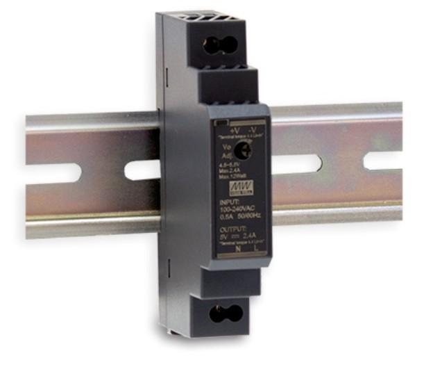 5V Hutschienen-Netzteil MeanWell HDR-15-5
