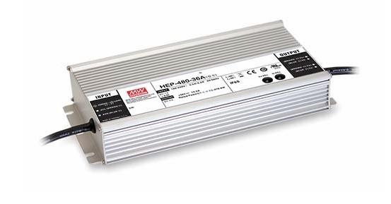 MEANWELL HEP-480-36 Einbaunetzteil 36V / 13,3A