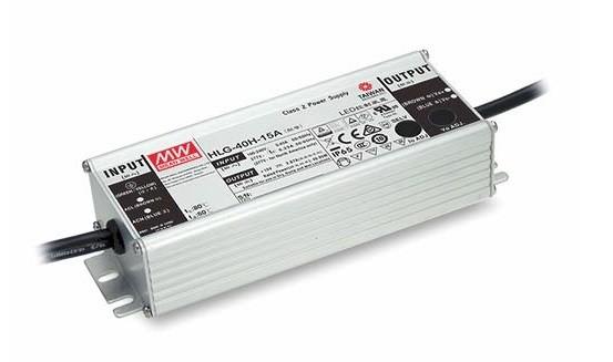 24V LED-Netzteil 1,6A 40W MeanWell HLG-40H-24A