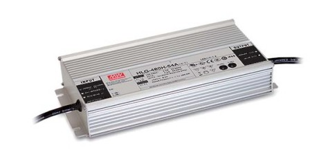 MeanWell HLG-480H-24A LED-Netzteil 24V / 20A 252x90x44mm