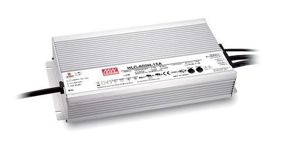 24V 25A 600W LED-Netzteil MeanWell HLG-600H-24AB