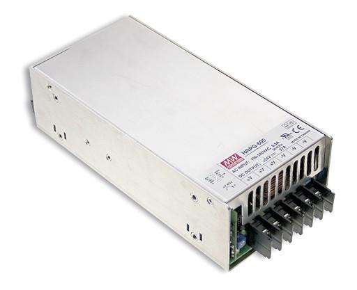 36V Einbaunetzteil 17,5A 630W MeanWell HRPG-600-36