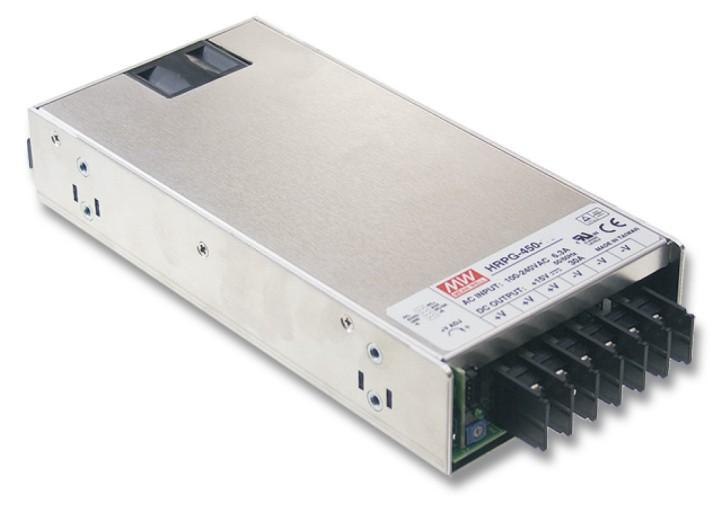 MEANWELL HRPG-450-12 Einbaunetzteil 12V / 37,5A