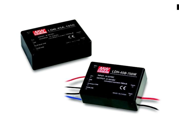 Step-Up LED-Treiber, Konstantstrom, 350mA, IN 9V bis 18V, pinned