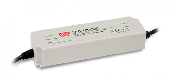 LED-Netzteil Konstantstrom,KSQ, 350mA 143V bis 286V