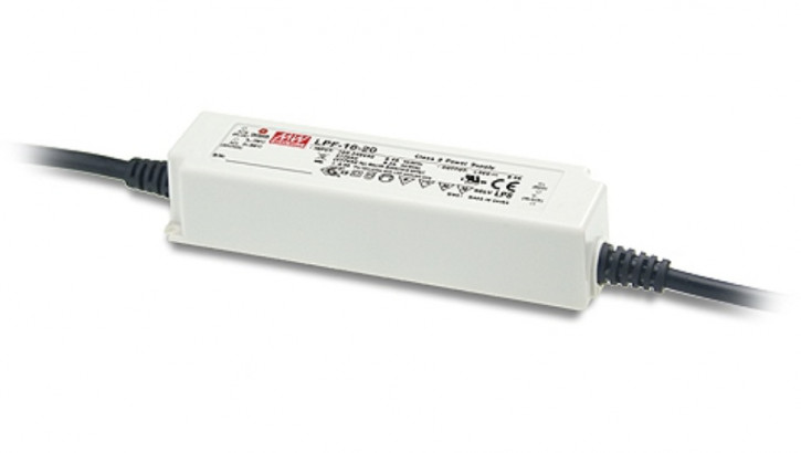 12V LED-Netzteil MeanWell LPF-16-12
