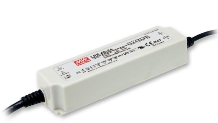 24V LED-Netzteil MeanWell LPF-40-24