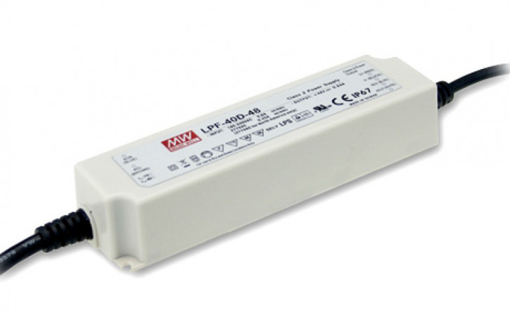 12V LED-Netzteil MeanWell LPF-40D-12