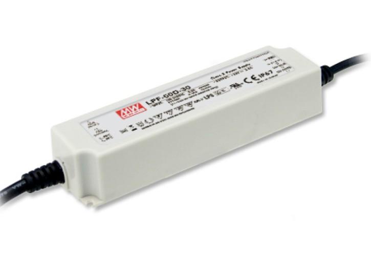 24V LED-Netzteil MeanWell LPF-60D-24
