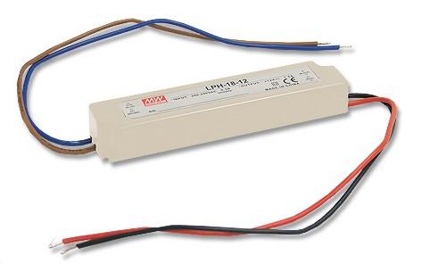 12V LED-Netzteil MeanWell LPH-18-12