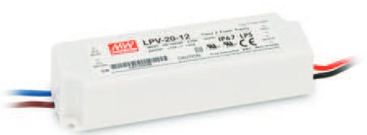 12V LED-Netzteil MeanWell LPV-20-12