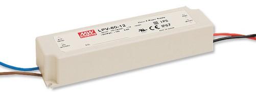12V LED-Netzteil MeanWell LPV-60-12