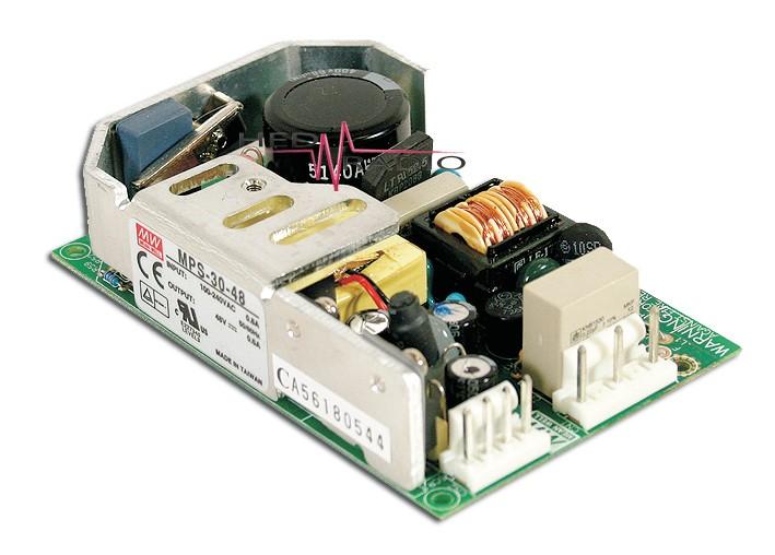 MEANWELL MPS-30-48 Einbaunetzteil 48V / 0,6A