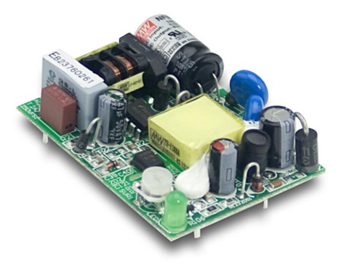 12V 0,42A 5,04W Einbaunetzteil MeanWell NFM-05-12