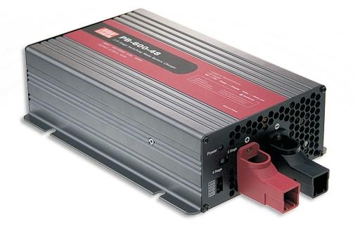 48V Ladegerät Blei-Akku max. 10A, MeanWell PB-600-48