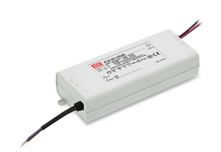 500mA 60W LED-Netzteil stromgeregelt PLD-60-500