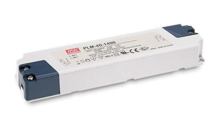 LED-Netzteil 350mA Konstantstrom 36W 53V bis 105V, dimmbar