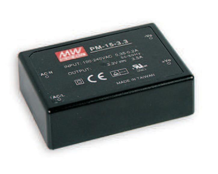 Schaltnetzteil Modul 15W 12V max. 1,25A