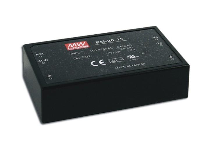 Schaltnetzteil Modul 20W 12V max. 1,8A