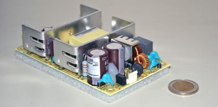 2,4A, 24V, Schaltnetzteil mit Ladefunktion + Netzausfallüberbrückung