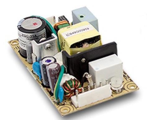 1,7A, 13,8V Schaltnetzteil mit Ladefunktion + Netzausfallüberbrückung, offene Platine