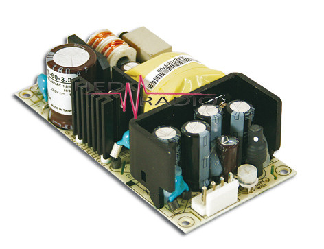 MEANWELL RPS-60-48 Einbaunetzteil 48V / 1,38A