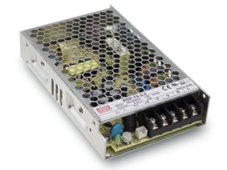 3,3V 15A Einbaunetzteil MeanWell, RSP-75-3.3