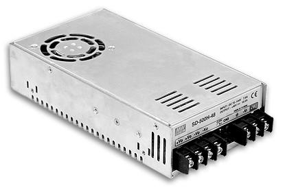 12V DC-Spannungswandler 480W, Eingang 19V bis 72V, MeanWell SD-500L-12