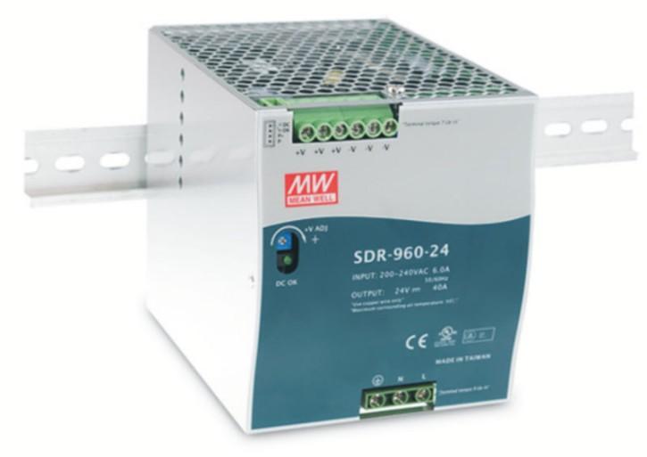 24V 960W Netzteil für Hutschiene MeanWell SDR-960-24