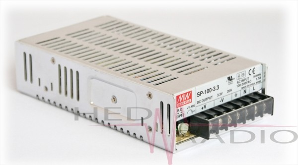 Netzteil 5V 20A 100W, MeanWell SP-100-5