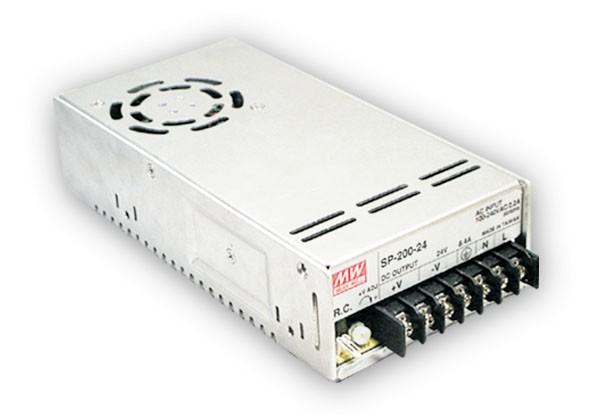 24V Einbaunetzteil 8,4A 201,6W MeanWell SP-200-24