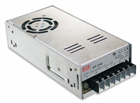 24V Einbaunetzteil 10A 240W MeanWell SP-240-24